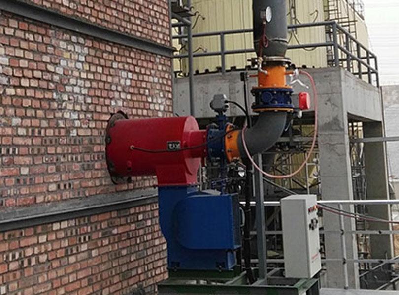 电石炉尾气燃烧器